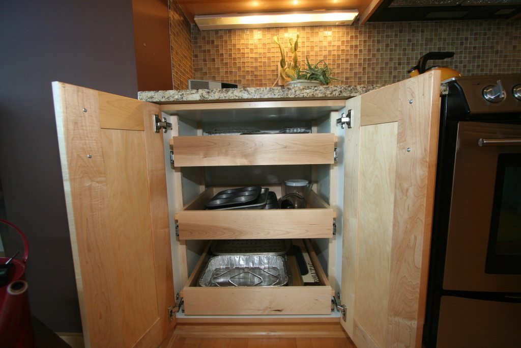 roll out shelves joe s custom cabinetry kitchen cabinet roll out shelves wichita handyman