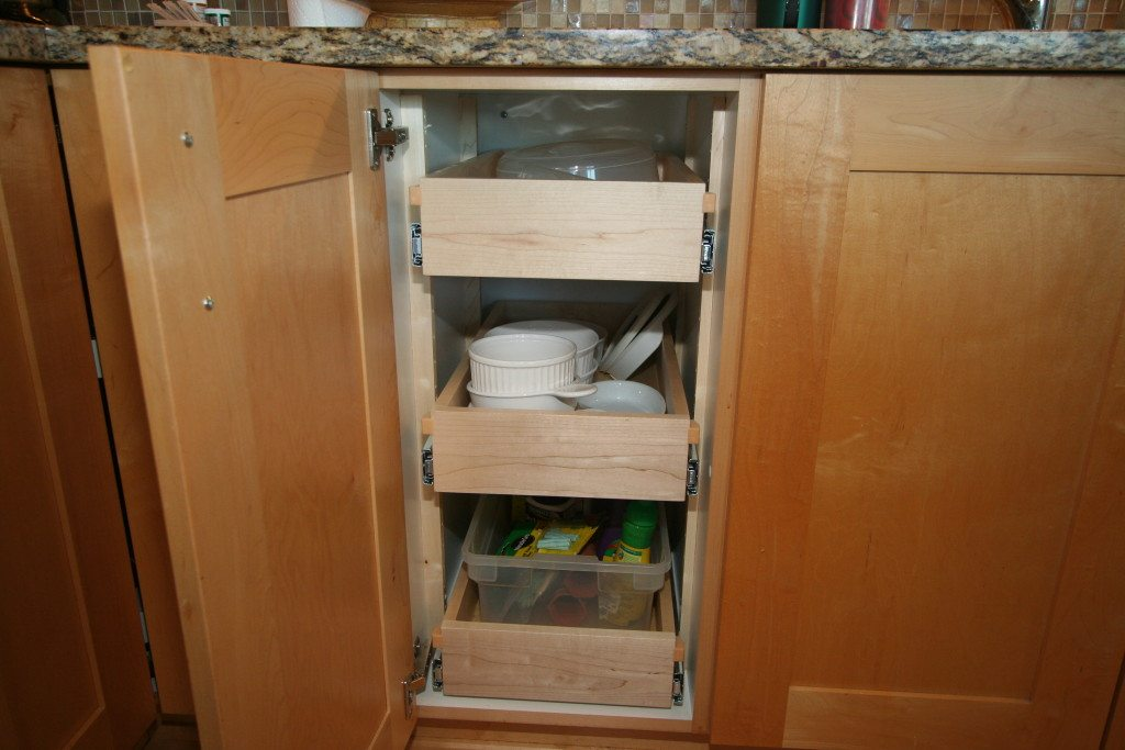 Roll Out Shelves Joe S Custom Cabinetry