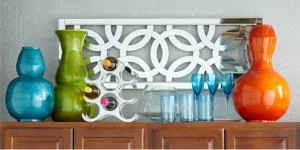 Above Cabinet Decor- Pier 1