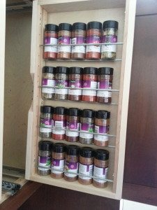 Vertical Spice Racks