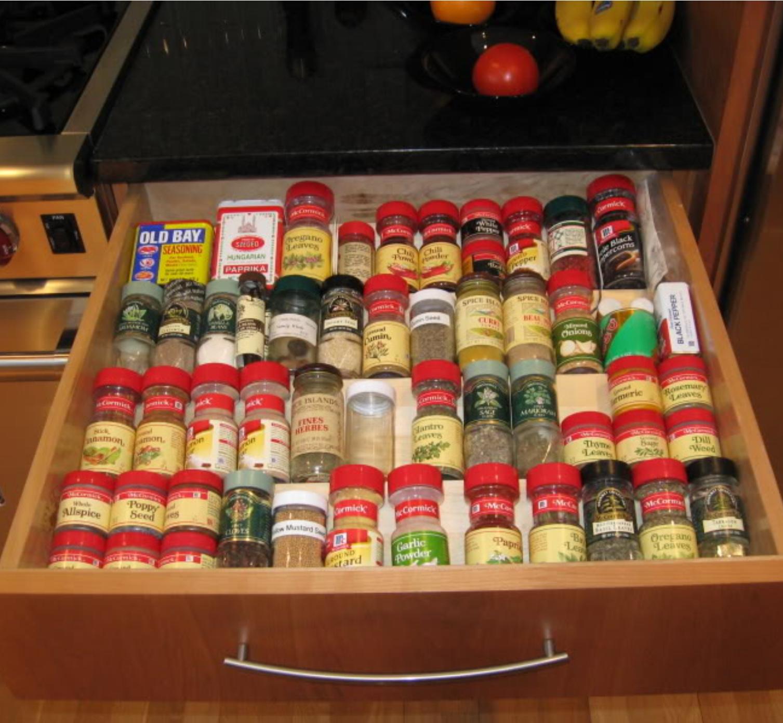 Spice Storage and Organization Joe s Custom Cabinetry